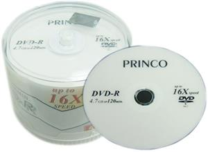 Princo Black DVD-R Pack of 50